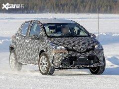 丰田全新小型SUV谍照 明年3月海外上市