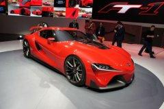 全新丰田FT-1概念车 北美车展亮相