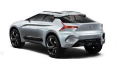 三菱汽车在东京车展上推出了一款名为eEvolutionConcept的高性能全电动SUV