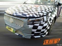 将于年内上市 MG全新紧凑型车谍照曝光
