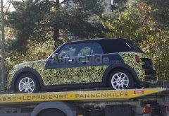 全新一代MINI Cooper敞篷车型谍照曝光
