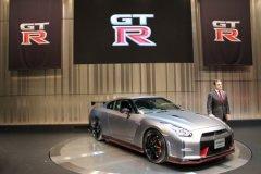 日产GT-R Nismo亮相东京车展 百公里2.5秒