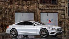 奔驰S63 AMG Coupe假想图曝光 明年上市