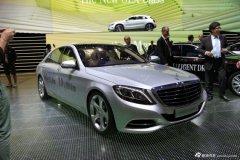 奔驰S500插电式混动车 法兰克福车展首发