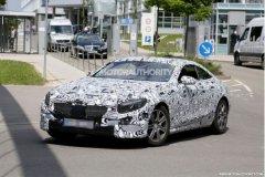 奔驰S级Coupe最新谍照 明年中期上市