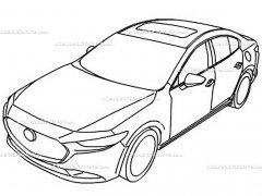 全新一代马自达3设计草图 或11月发布