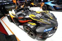 日内瓦车展:奥地利KTM发布GT版X-Bow