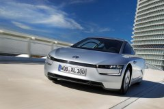 大众XL1日内瓦车展发布 百公里油耗0.92L