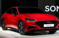 2020年现代索纳塔Turbo在首尔车展上亮相