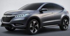 基于飞度 本田城市SUV将亮相北美车展