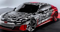 新的奥迪E-tron GT在洛杉矶车展首映前被嘲笑