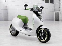 Smart将推电动小轮摩托 2014年上市