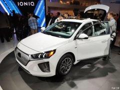 洛杉矶车展:现代新款IONIQ Electric
