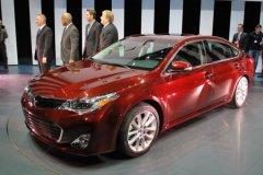 第四代丰田亚洲龙纽约车展首发 年底上市