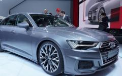 2019年奥迪A6在日内瓦展示新面孔和四轮转向