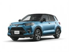 丰田全新小型SUV——RAIZE官图发布