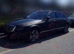 神速 全新一代奔驰S级国内测试车曝光