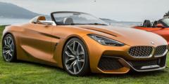 宝马宣布生产规格Z4将在圆石滩首次亮相
